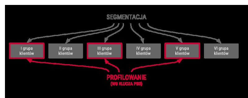 segmentacja vs profilowanie